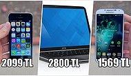 Son 5 Yılda Telefondan Bilgisayara ve Tablete Teknolojik Ürünlerin Fiyatı Ne Kadar Değişti?