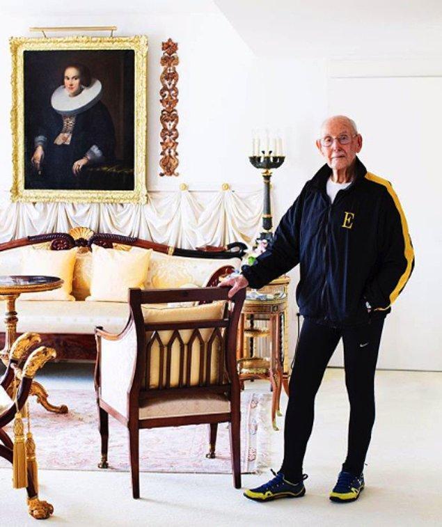 11. Fitness ile 85 yaşında tanışan Charles Eugster 100'den fazla fitness ödülü kazandı