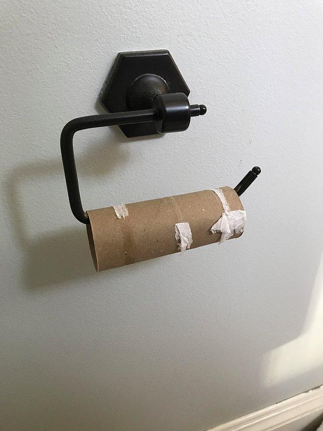 """""""Ancak evli değilseniz hiçbir zaman tuvalet kağıdı bulamazsınız..."""""""