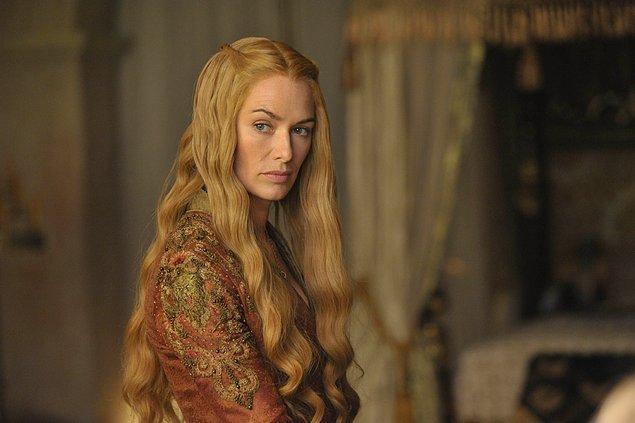 1. Cersei Lannister - Zuhal