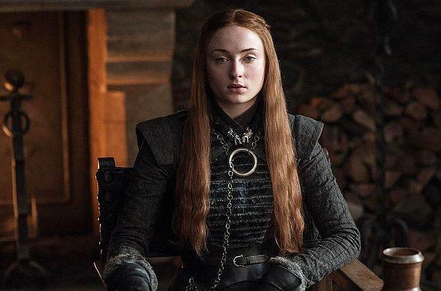 5. Sansa Stark - Hande