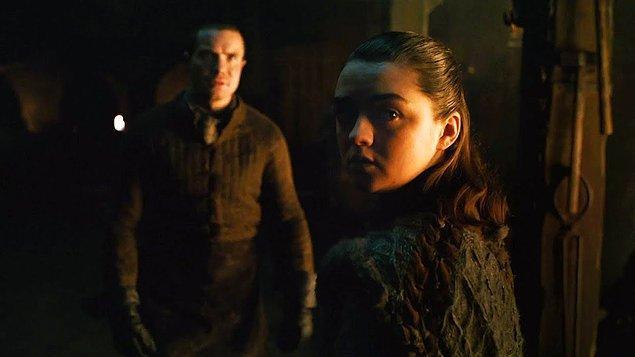 9. Arya Stark - Esra