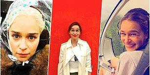 Ejderhaların Hırslı Anası Khaleesi'yi Canlandıran Emilia Clarke Hakkında Daha Önce Duymadığınız 21 Bilgi