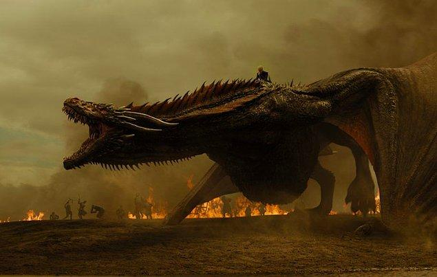 Game of Thrones seyircileri, Drogon adlı üçüncü ejderhanın son ejderha olmadığını düşünüyor!