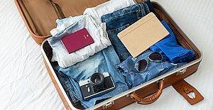 Bu Kadar Eşya Nasıl Sığacak Diye Düşünmeyin Diye Adım Adım Anlattık: Nasıl Bavul Hazırlanır?