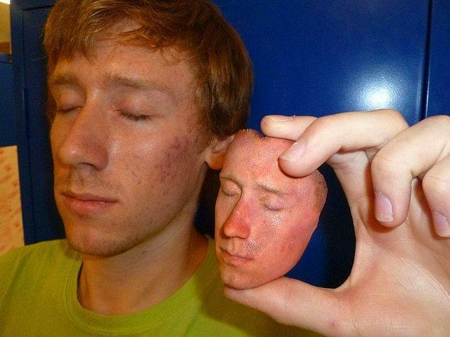 Kendi yüzünüzü 3D olarak basabiliyorken kim selfie ister?