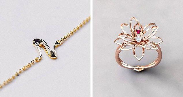İnanılmaz ama bu mücevherler 3D baskıyla yapılmış.