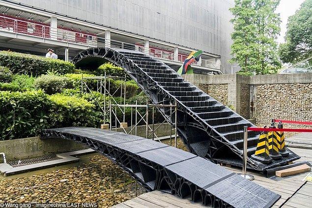 Çin'deki bu modern köprüler 3D baskı ile yapıldı.