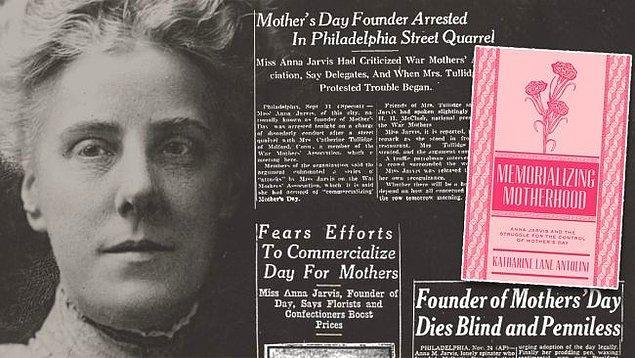 Jarvis'in aklındaki anneler gününde, annemize yazılan bir mektup, ona bir ziyaret gibi şeyler vardı.