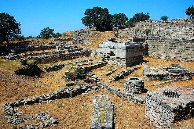 10. Troya Antik Kenti hangi ülkededir?