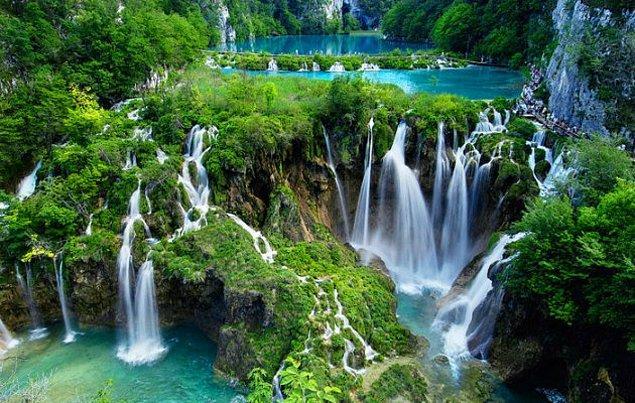 12. Plitvice Gölleri Milli Parkı hangi ülkededir?