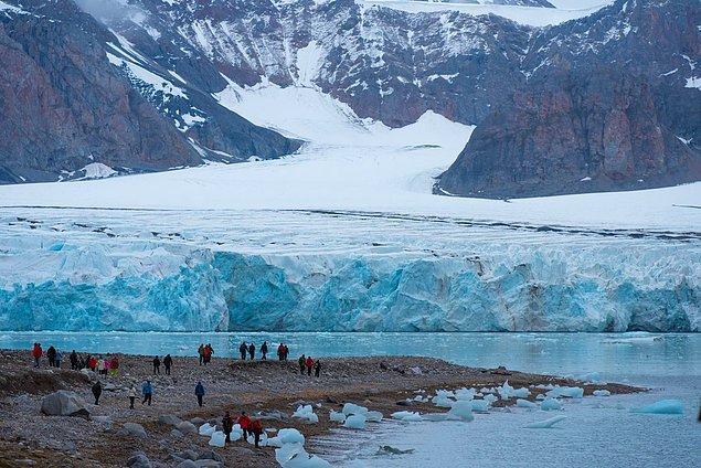 6. Bir Norveç adası olan Svalbard'da toprağın sürekli donmuş olmasından dolayı bedenleri gömmek güvenli olmadığı için ölmek yasaktır.