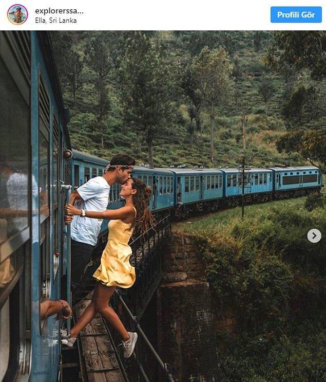 Castille ve Workman, sosyal medyadaki fotoğrafları nedeniyle dikkat çeken ilk çift değil elbette. Mart ayında Portekizli iki influencer da Sri Lanka'da hareket eden bir trenden sarkarken çekilen fotoğrafları nedeniyle eleştirildiler.