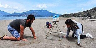 Yuvalar Gönüllü Gençler Tarafından Korunuyor: Caretta Carettalar İlk Yumurtalarını Bıraktı