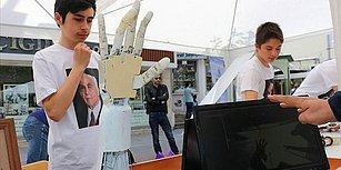 Lise Öğrencileri, Öğretmenlerinin Desteği ile Bomba İmhada ve Fizik Tedavide Kullanılabilecek Robot Kol Tasarladı