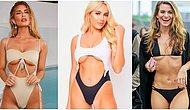 Plajların İlgi Odağı Olmak İsteyenlerin Tercihi: Meme Altı Dekolteli Bikini Trendi