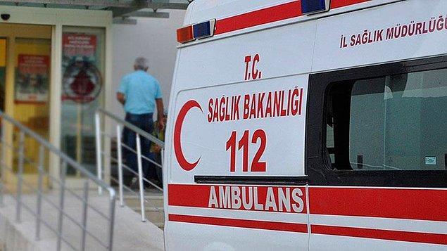 Hastaneye kaldırılan 11 kişinin sağlık durumu iyi.