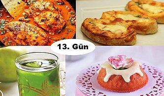 ''Akşam İftara Ne Pişirsem?'' Diye Düşünmeyin! Ramazan'ın 13. Günü İçin İftar Menüsü Önerisi