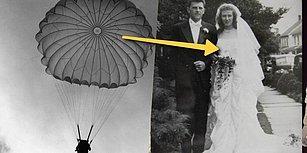 Kocasının Hayatını Kurtaran Paraşütü Düğününde Gelinlik Olarak Kullanan Kadının Aşk Dolu Hikayesi