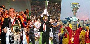 Kupa Koleksiyoncusu Fatih Terim'in Galatasaray ile Kazandığı 19 Kupa