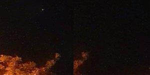 UFO Gördüğünü Zannederek Video Çeken Vatandaş: 'Vallahi Gördüm Bu Sefer Hey Yavrum Benim'