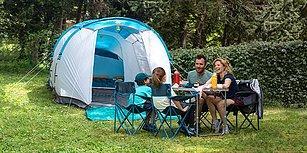 Çocuklarınız Doğa ile İç İçe Büyüsün Diye İhtiyacınız Olan Tüm Kamp Malzemeleri Bir Arada!