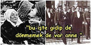 19 Mayıs 1919'da Samsun'da Doğan Güneşin Adı Olan Atatürk'ün Son Kez Gördüğü Annesi ve Kız Kardeşiyle Hüzün Dolu Vedalaşması