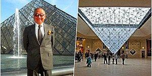 Yüz İki Yaşında Ölen Louvre Müzesi Piramidinin Mimarı I. M. Pei ve Her Biri Şaheser Olan Yapıları