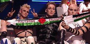İsrail'deki Eurovision'da Bayrak Açtılar: İzlandalı Grup Hatari ve Madonna'dan Filistin'e Destek