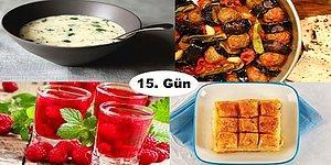 Akşam İftara Ne Pişirsem?' Diye Düşünmeyin! Ramazan'ın 15. Günü İçin İftar Menüsü Önerisi