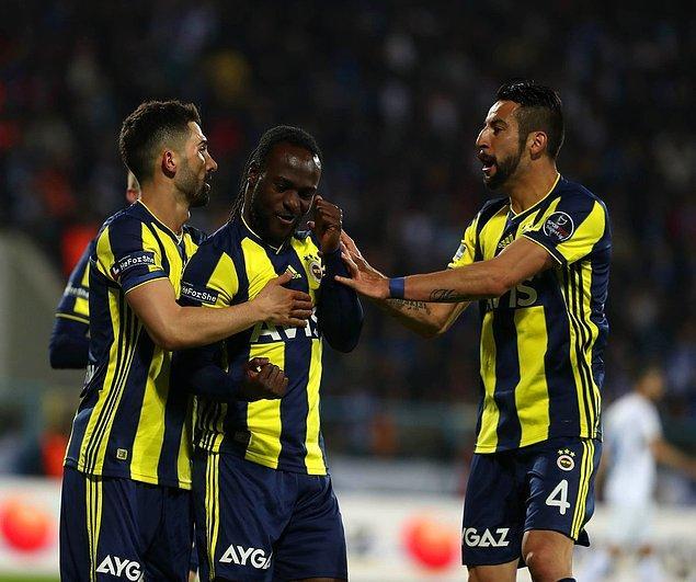 59. dakikada VAR kararı sonrası Fenerbahçe penaltı kazandı. Topun başına geçen Moses Fenerbahçe'ye 1-0'lık galibiyeti getiren golü kaydetti.