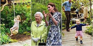 Yine Hayran Kaldık! Kraliyetin Asil Gelini Kate'in Çocuklar İçin Getirttiği Onlarca Bitkiyle Hazırlanan Bahçe