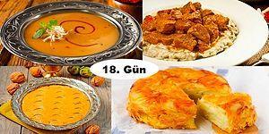 Akşam İftara Ne Pişirsem?' Diye Düşünmeyin! Ramazan'ın 18. Günü İçin İftar Menüsü Önerisi