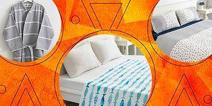 Tüm Bu Ev Tekstili Ürünleri Siz Evinizde İstediğiniz Gibi Bir Hava Yaratabilin Diye Bir Araya Geldi!