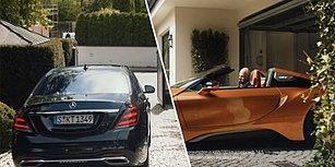 BMW'den Mercedes'e Efsane Gönderme: Emekli Olan Mercedes CEO'su S Serisi Aracından İnip BMW'ye Biniyor