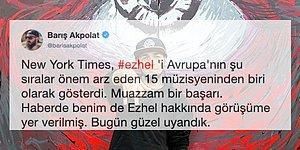 As Bayrakları! The New York Times Gazetesi, Ezhel'i Avrupa'da Şu Sıralar Önem Arz Eden 15 Müzisyenden Biri Olarak Gösterdi!