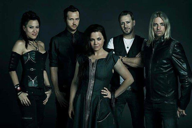 2. Sevilen rock grubu Evanescence 13 Eylül Volkswagen Arena'da.