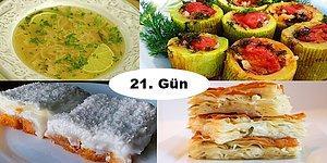 Akşam İftara Ne Pişirsem?' Diye Düşünmeyin! Ramazan'ın 21. Günü İçin İftar Menüsü Önerisi