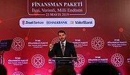Albayrak, İVME Finansman Paketi'ni Açıkladı: 'Haziran Ayından İtibaren Türkiye'nin Cari Fazla Vereceğini Öngörüyoruz'