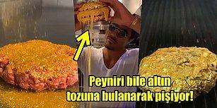 Nusret'in Fiyatıyla Dudak Uçuklatan ve Sosyal Medyada Tartışma Yaratan 24 Ayar Altın Kaplama Hamburgerini Merak Ediyor musunuz?