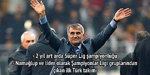 Adını Beşiktaş Tarihine Yazdıran Şenol Güneş 200. Maçıyla Beşiktaş'a Veda Ediyor!