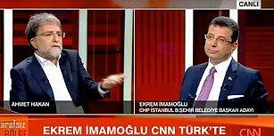 İmamoğlu: 'CNN Türk'te Katıldığım Programı Çeken Kameramanların İşine Son Verildiğini Duydum'