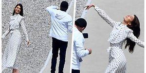 Ünlü de Olsan Hanımcılık Kazanıyor! Leonardo DiCaprio Sevgilisi Camila Morrone'nin Fotoğraflarını Çekmeye Doyamadı