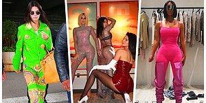 Attığı Adım Olay Olan Kardashian ve Jenner Kardeşlerin Üzerine Para Verseler de Asla Giymek İstemeyeceğiniz Saçma Kıyafetleri
