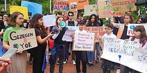 125 Ülkede Aynı Günde: Maçka Parkı'nda Toplanan Çocuklardan Dünyaya İklim Mesajı