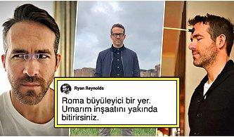 Yaptığı Yorumlarla Bir Uzaylı Olduğundan Kesinlikle Emin Olduğumuz Ryan Reynolds'ın Birbirinden Komik 17 Paylaşımı