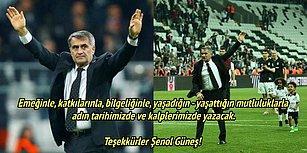 Şenol Güneş Galibiyetle Veda Etti! Beşiktaş-Kasımpaşa Maçının Ardından Yaşananlar ve Tepkiler