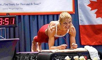 4 Saat 20 Dakika Plank Pozisyonunda Durarak Dünya Rekoru Kıran Kadın: Dana Glowacka