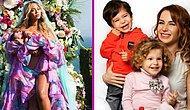 Onlarınki Çifte Mutluluk! İkiz Bebeklere Sahip Olarak Saadetini İkiye Katlamış 20 Ünlü Anne-Baba