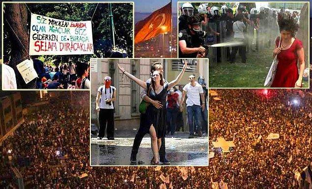 Sabah destek için gelen protestocular ve milletvekilleriyle birlikte polisin müdahalesi de sert oldu. Efsane karelerin ortaya çıktığı 28 Mayıs sabahının ardından protestocuların sayısı arttı.